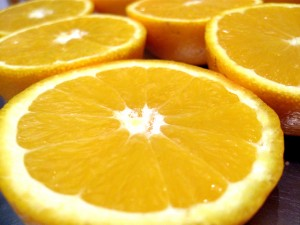 Números con distinta terminación: naranjas
