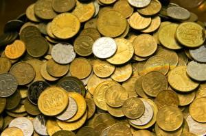 Unas monedas por nada